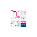 Bella Blvd - Kiss Me Collection - 12 x 12 Cardstock Stickers - Just Write