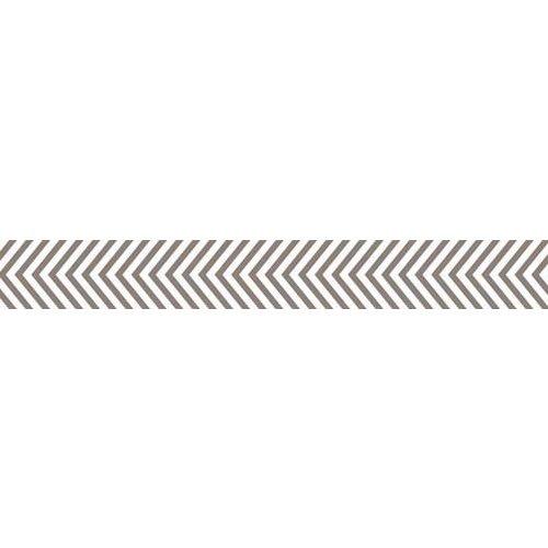Bella Blvd - Decorative Tape - Gray Chevron