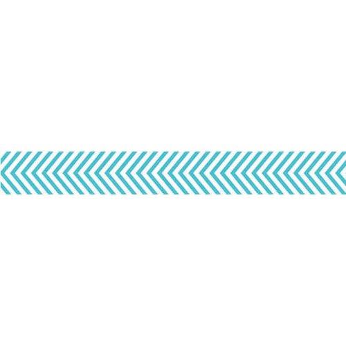 Bella Blvd - Decorative Tape - Blue Chevron