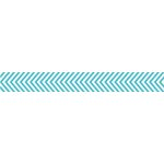 Bella Blvd - Decorative Tape - Blue Chevron