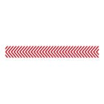 Bella Blvd - Decorative Tape - Red Chevron