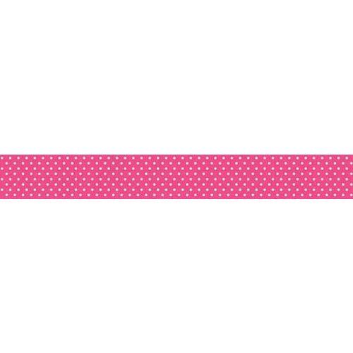 Bella Blvd - Decorative Tape - Hot Pink Dot