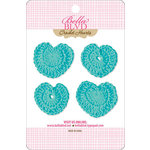 Bella Blvd - Sophisticates Collection - Crochet Hearts - Gulf