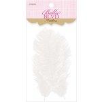 Bella Blvd - Feathers - White