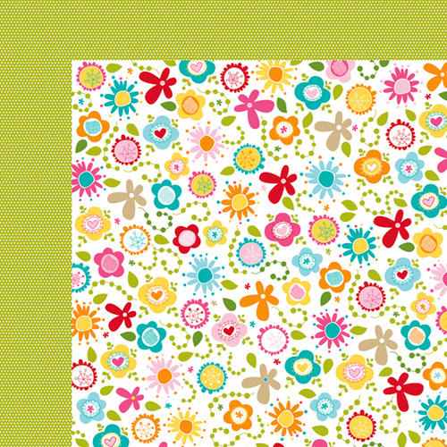 Bella Blvd - Sand and Surf Collection - 12 x 12 Double Sided Paper - Paradise