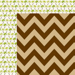 Bella Blvd - Sand and Surf Collection - 12 x 12 Double Sided Paper - Under the Coconuts