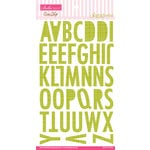 Bella Blvd - Sand and Surf Collection - Ciao Chip - Self Adhesive Chipboard - Sienna Alphabet - Pickle Juice