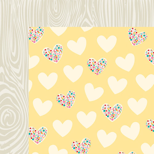 Bella Blvd - Love and Marriage Collection - 12 x 12 Double Sided Paper - Smokeys in Love