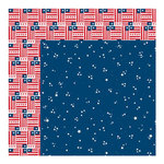 Bella Blvd - All American Collection - 12 x 12 Double Sided Paper - United We Stand