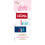 Bella Blvd - All American Collection - Flags - Words