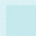 Bella Blvd - Sophisticates Collection - 12 x 12 Double Sided Paper - Freestyle Saltwater