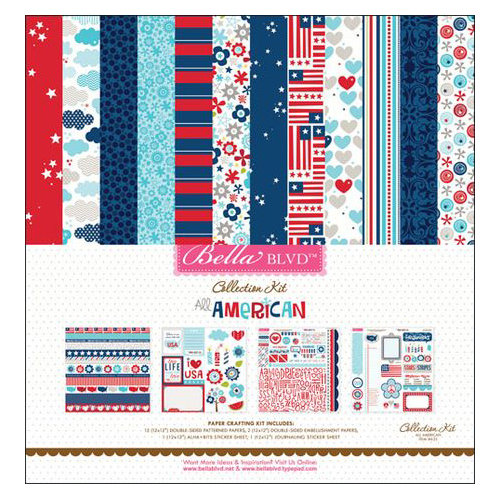 Bella Blvd - All American Collection - 12 x 12 Collection Kit