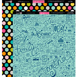 Bella Blvd - Snapshots Collection - 12 x 12 Double Sided Paper - Family Chaos