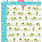 Bella Blvd - Play Date Collection - 12 x 12 Double Sided Paper - Park Play