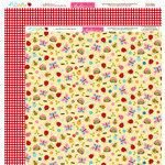 Bella Blvd - Play Date Collection - 12 x 12 Double Sided Paper - Catching Bugs