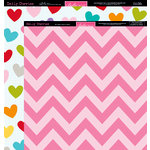 Bella Blvd - Daily Chevies and Everyday Bits Collection - 12 x 12 Double Sided Paper - Chevy - Peep