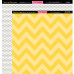 Bella Blvd - Daily Chevies and Everyday Bits Collection - 12 x 12 Double Sided Paper - Chevy - Bell Pepper