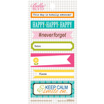 Bella Blvd - Daily Chevies and Everyday Bits Collection - Cardstock Stickers - Bookplates - Everyday
