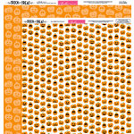 Bella Blvd - Trick or Treat Collection - Halloween - 12 x 12 Double Sided Paper - Pick a Punkin