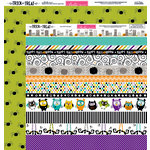 Bella Blvd - Trick or Treat Collection - Halloween - 12 x 12 Double Sided Paper - Borders