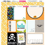 Bella Blvd - Trick or Treat Collection - Halloween - 12 x 12 Double Sided Paper - Daily Details