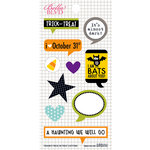 Bella Blvd - Trick or Treat Collection - Halloween - Cardstock Stickers - Captions