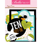 Bella Blvd - Trick or Treat Collection - Halloween - Paper Pieces - Die Cut Cardstock Pieces