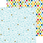 Bella Blvd - Tiny Tots Collection - 12 x 12 Double Sided Paper - Busy Bee