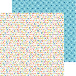 Bella Blvd - Tiny Tots Collection - 12 x 12 Double Sided Paper - Alphabet Soup