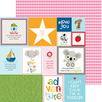 Bella Blvd - Tiny Tots Collection - 12 x 12 Double Sided Paper - Daily Details