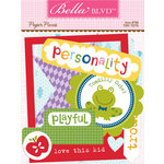 Bella Blvd - Tiny Tots Collection - Paper Pieces - Die Cut Cardstock Pieces
