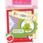 Bella Blvd - Tiny Tots Collection - Paper Pieces - Die Cut Cardstock Pieces