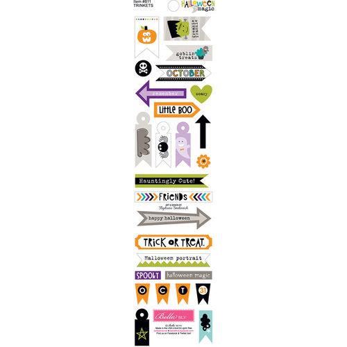 Bella Blvd - Halloween Magic Collection - Cardstock Stickers - Trinkets