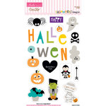 Bella Blvd - Halloween Magic Collection - Ciao Chip - Self Adhesive Chipboard - Icons