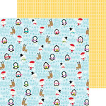Bella Blvd - Christmas Cheer Collection - 12 x 12 Double Sided Paper - Christmas Crew