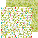 Bella Blvd - Christmas Cheer Collection - 12 x 12 Double Sided Paper - Merry and Bright