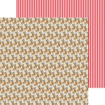 Bella Blvd - Christmas Cheer Collection - 12 x 12 Double Sided Paper - Reindeer Games