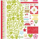 Bella Blvd - Christmas Cheer Collection - 12 x 12 Cardstock Stickers - Treasures and Text