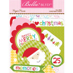 Bella Blvd - Christmas Cheer Collection - Paper Pieces - Die Cut Cardstock Pieces