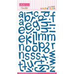 Bella Blvd - Amorie Alpha Collection - Ciao Chip - Self Adhesive Chipboard - Blueberry