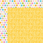 Bella Blvd - Simply Spring Collection - 12 x 12 Double Sided Paper - Sunshine