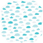 Bella Blvd - Campout Collection - Invisibles - 12 x 12 Die Cut Paper - Fresh Air