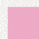 Bella Blvd - Color Chaos Collection - 12 x 12 Double Sided Paper - Peep Strandz