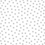 Bella Blvd - Color Chaos Collection - Clear Cuts - 12 x 12 Transparency - Metallic Silver Confetti