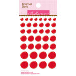 Bella Blvd - Color Chaos Collection - Enamel Stickers - Dots - McIntosh