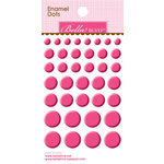 Bella Blvd - Color Chaos Collection - Enamel Stickers - Dots - Punch