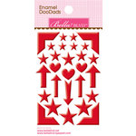 Bella Blvd - Color Chaos Collection - Enamel Stickers - Doodads - McIntosh