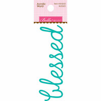 Bella Blvd - Home Sweet Home Collection - Acrylic Words - Blessed