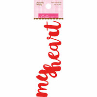 Bella Blvd - Home Sweet Home Collection - Acrylic Words - My Heart