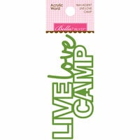 Bella Blvd - Let's Go On An Adventure Collection - Acrylic Words - Live Love Camp